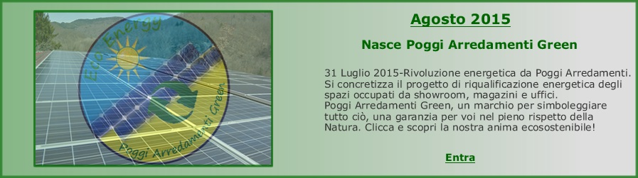 P.A Green energie rinnovabili